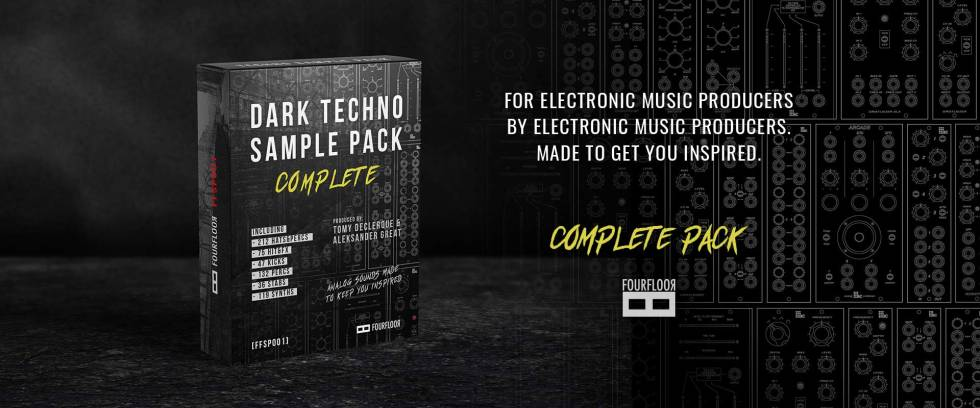Dark Techno Sample Pack from Fourfloor by Aleksander Great and Tomy DeClerque