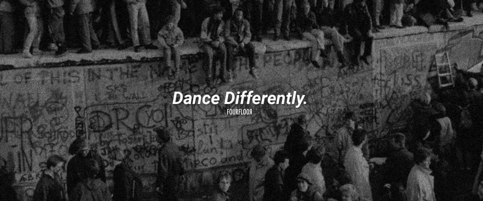 Fourfloor Dance Differently - Cover Photo - Berlin Wall