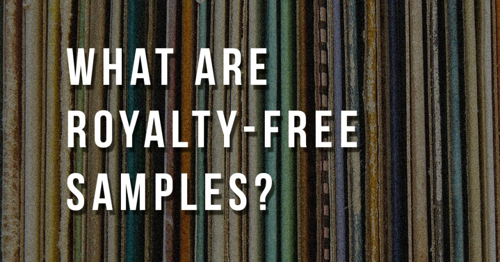 What are royalty-free samples?