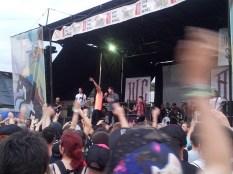 band at Vans Warped Tour