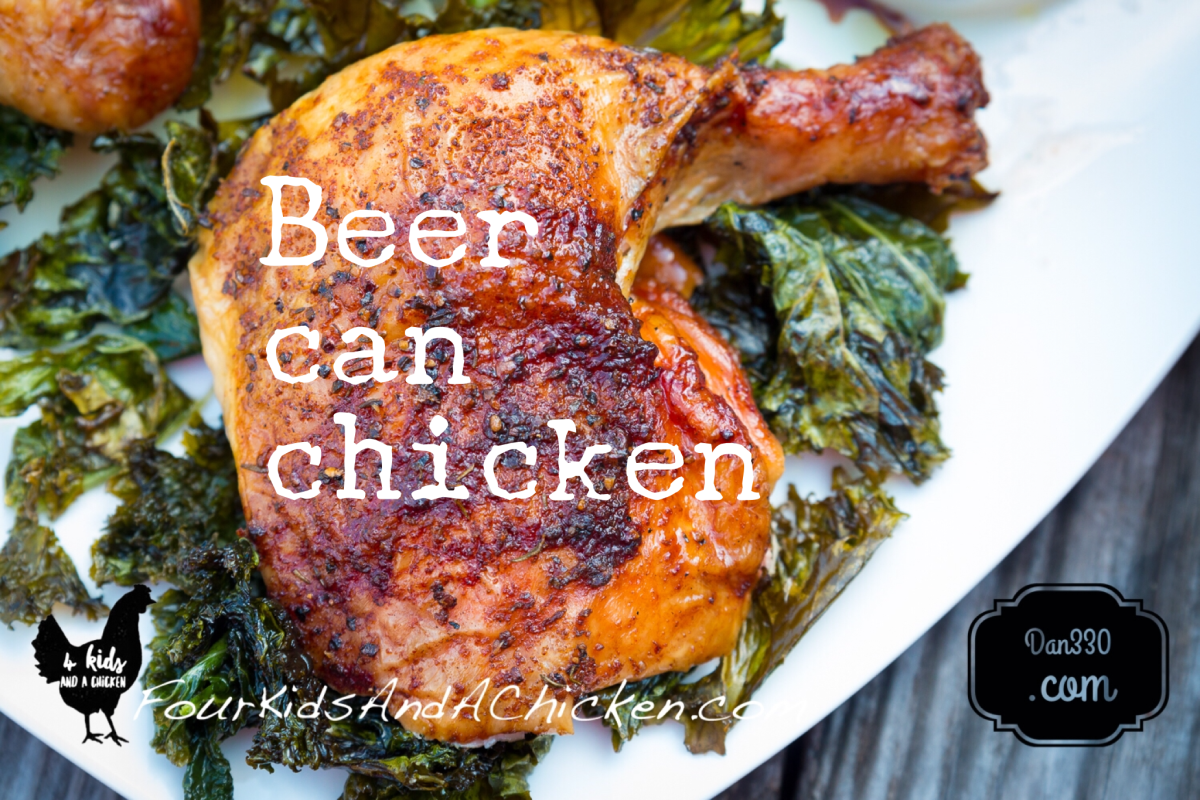 Beer Can Chicken for the Grill