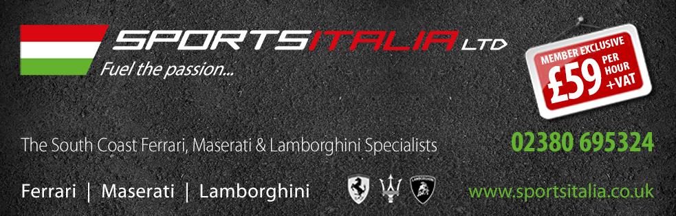 Sports Italia Banner