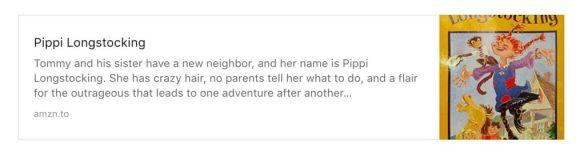 Inspirational Books Pippi Longstocking