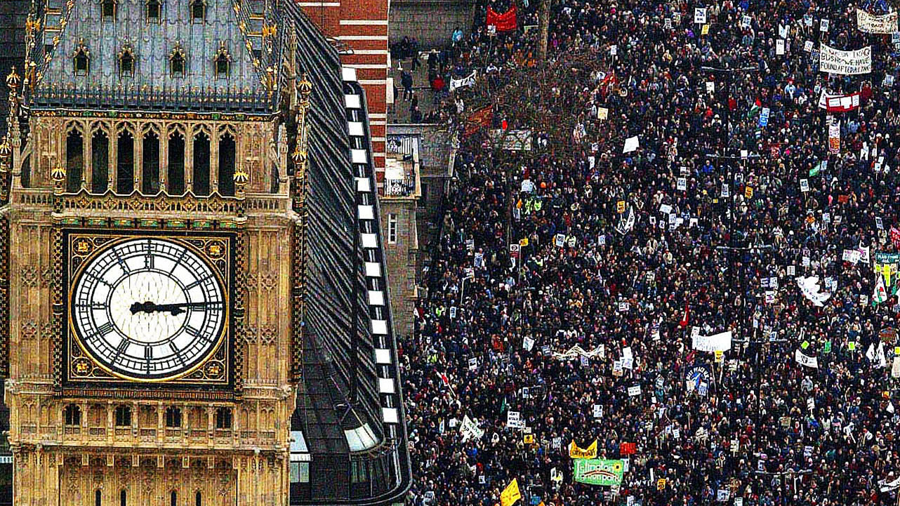 Iraq War Protest 10 Years After We Marched Channel 4 News
