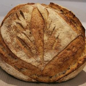 photo pain boule de campagne