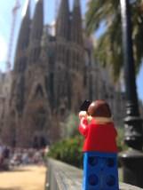 The Segrada Familia, Barcelona