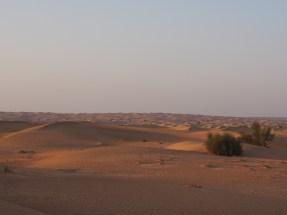 an hours drive from Dubai