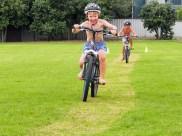 Biking in the triathlon