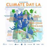 Climate Day LA poster