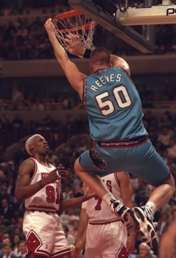 Bryant Reeves dunking