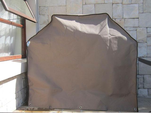 Brown braai cover