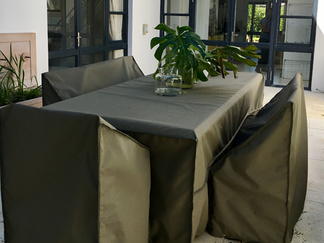 Olive table and chair covers
