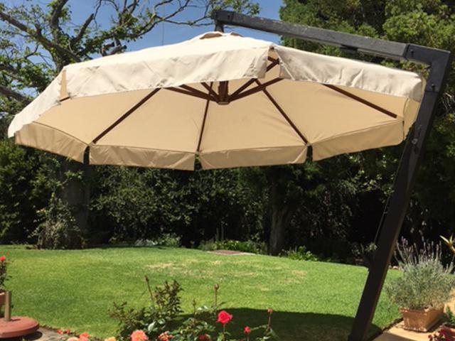 Umbrella canopy replacement