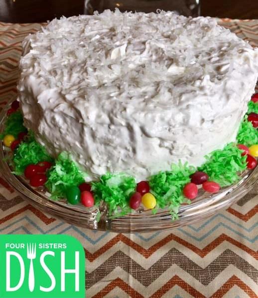 Coconut Sour Cream Cake
