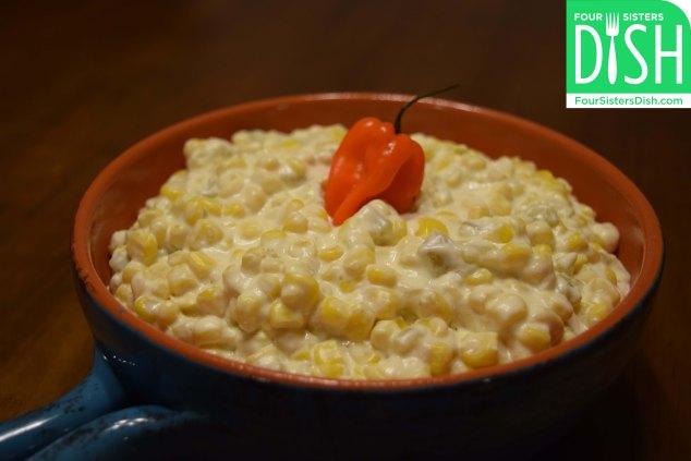 Aunt Annie's Green Chile Corn Casserole