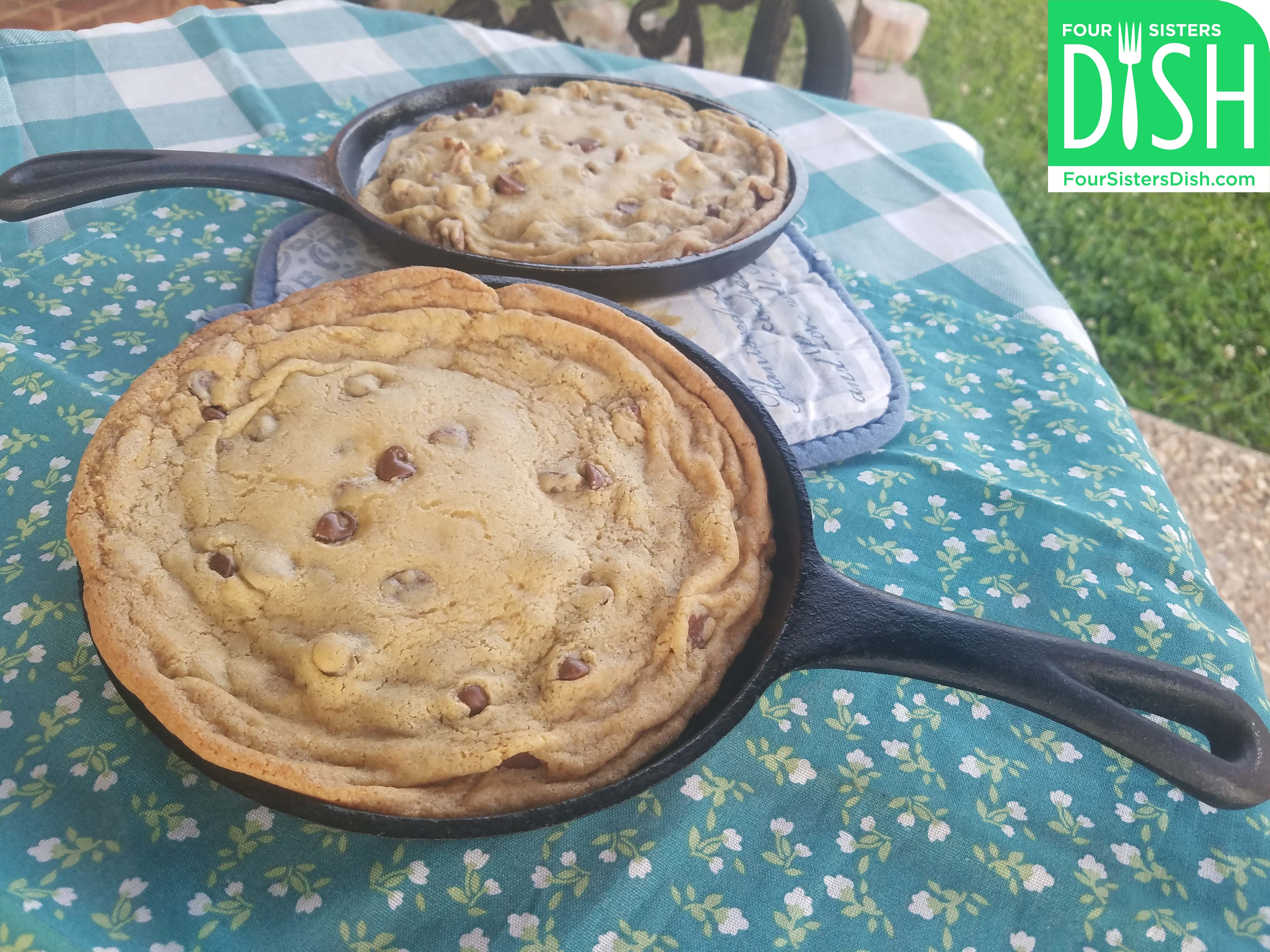 Chocolate Chip Skillet Cookie