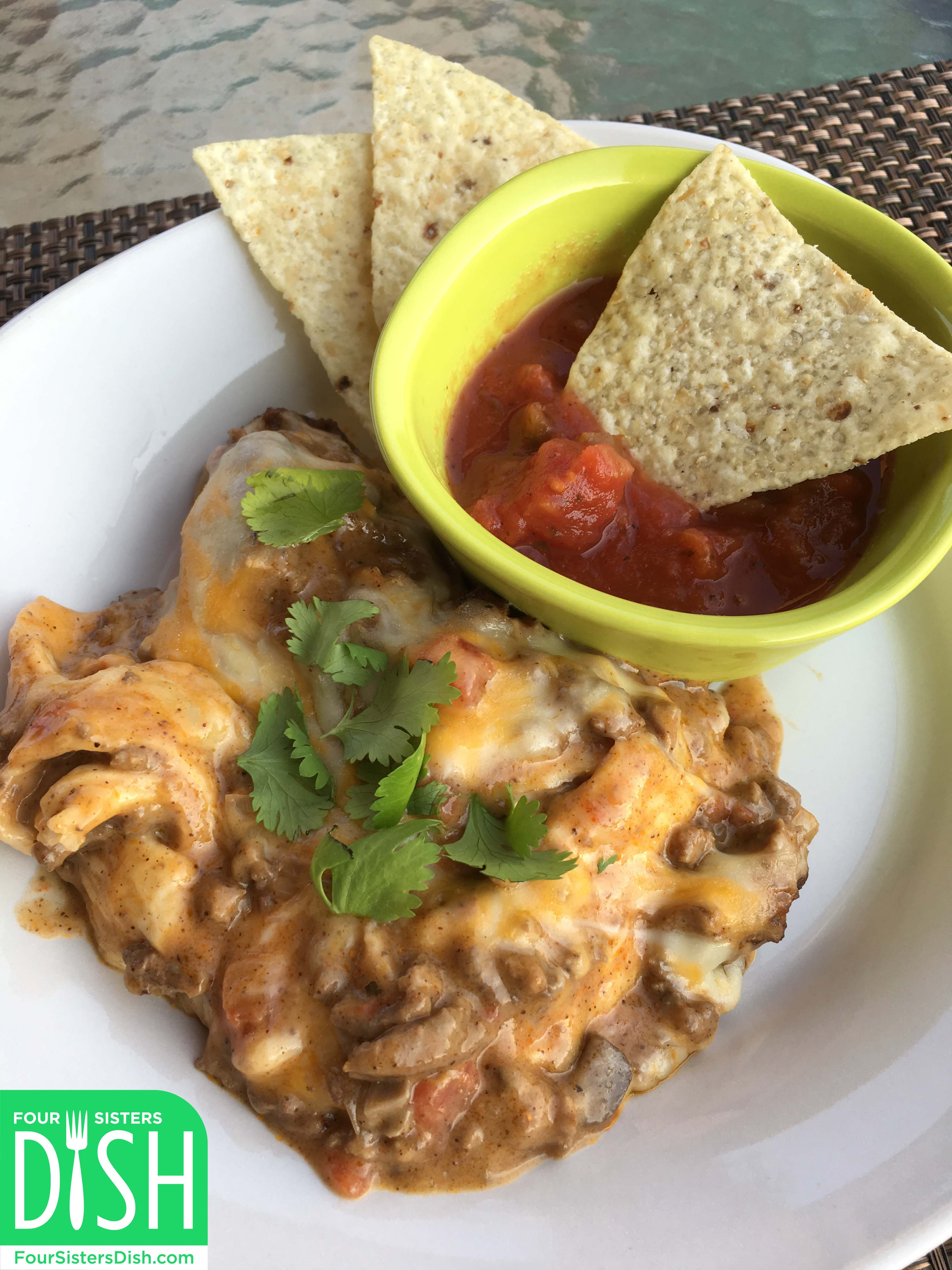 The Best Mexican Casserole Ever