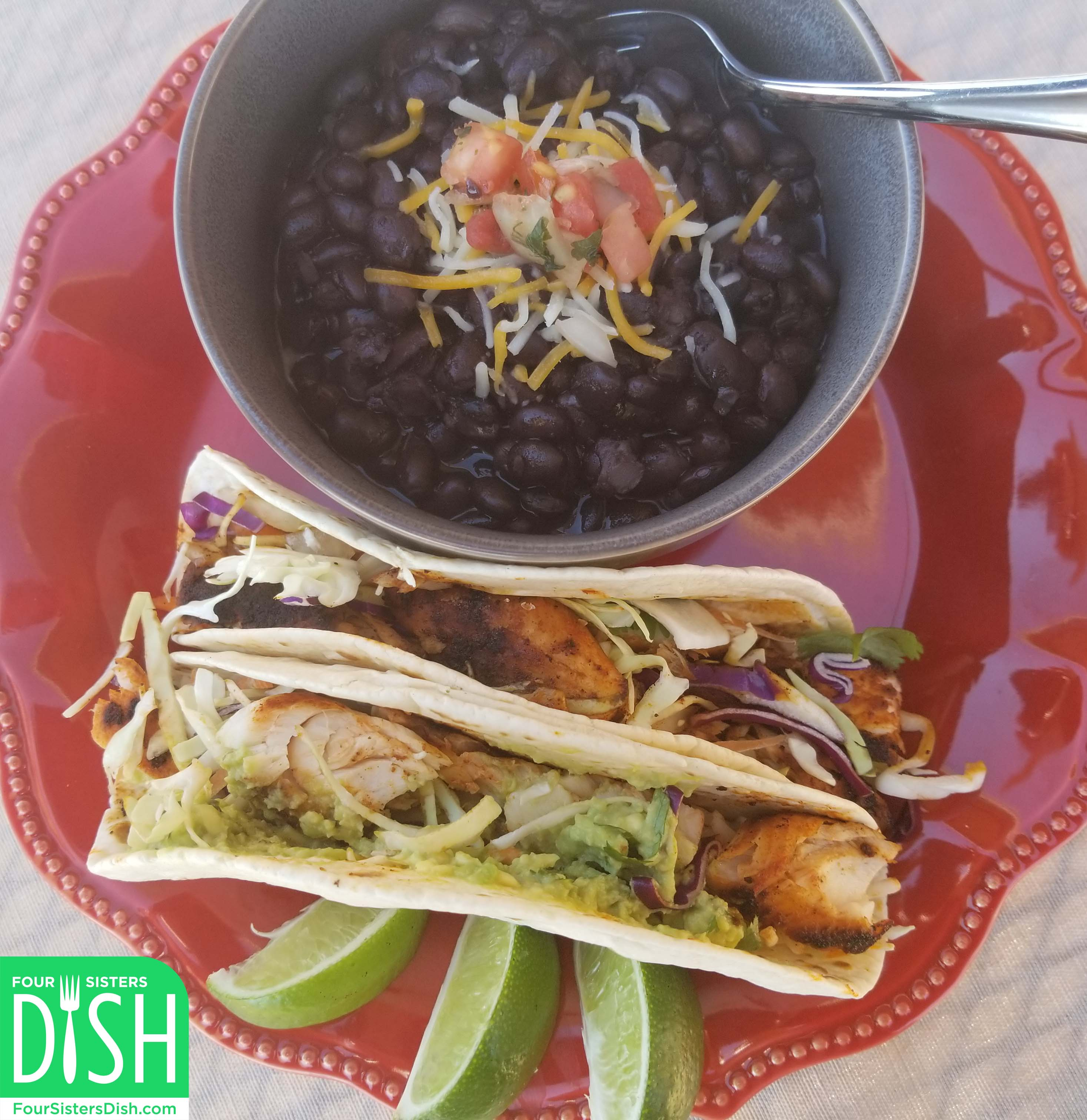 Mahi Mahi Blackened Fish Tacos