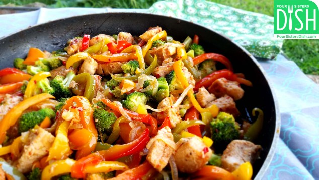 Sweet & Spicy Chicken Stir-Fry