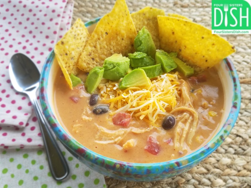 Creamy Chicken Taco Chili