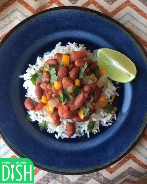 Cuban Style Red Beans and Rice