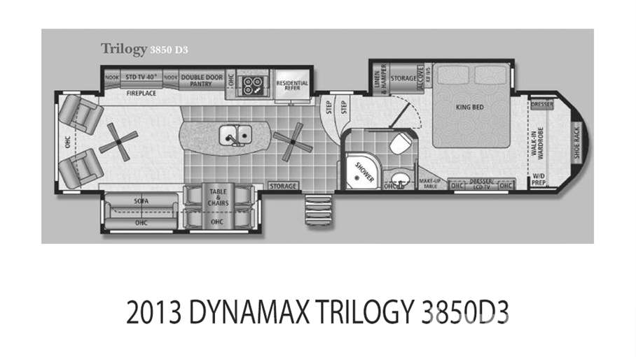 2013 Dynamax Trilogy 3850D3 For Sale In Tampa, FL