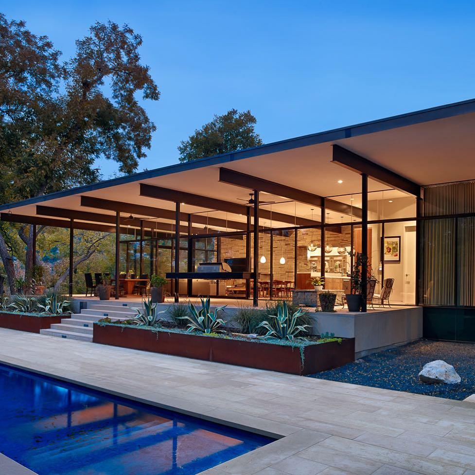 form the framework for this Burton Baldrige Architecture #design. by @foursquarebuilders  Austin