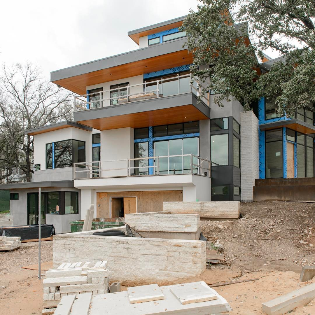 Just a couple of months left for our Brett Cove home to be complete. Built by @foursquarebuilders