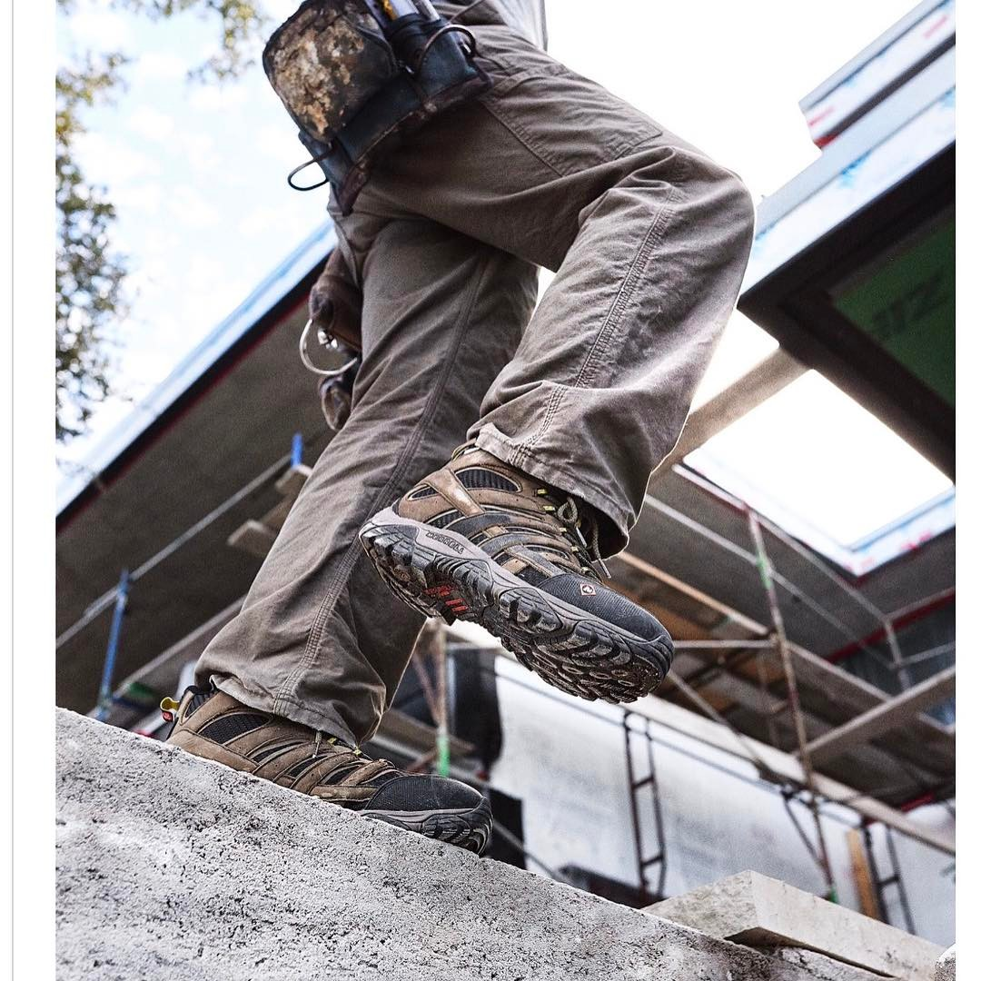 Merrell boots selected Foursquare Builders job site for their most recent photo shoot for their new product line.