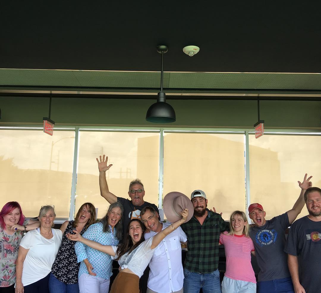 Love our Foursquare Builders family. Fun day at @TopGolf.