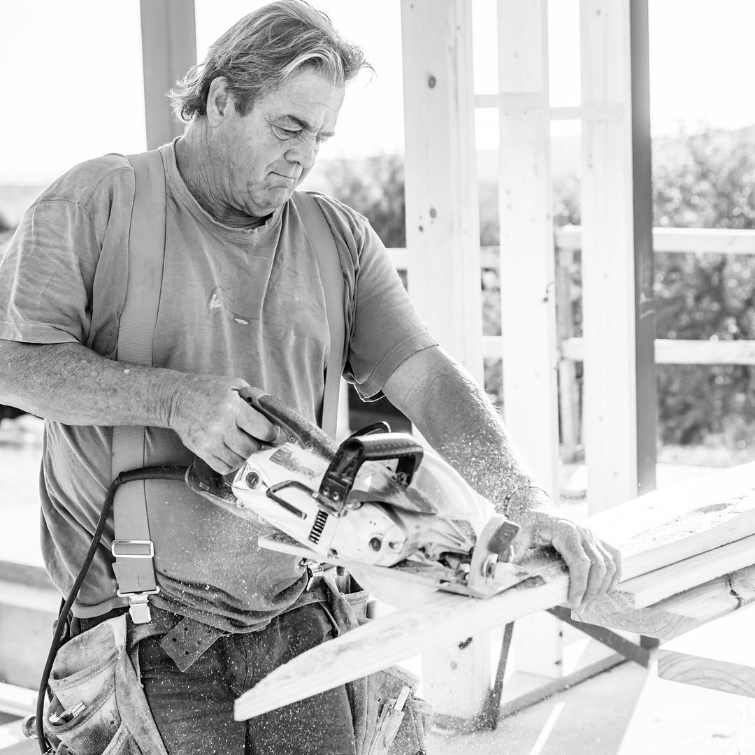Gotta love the men that make it happen everyday at Foursquare Builders. Thanks Jim!  Built by @foursquarebuilders Photo by @redpantsstudio Designed by