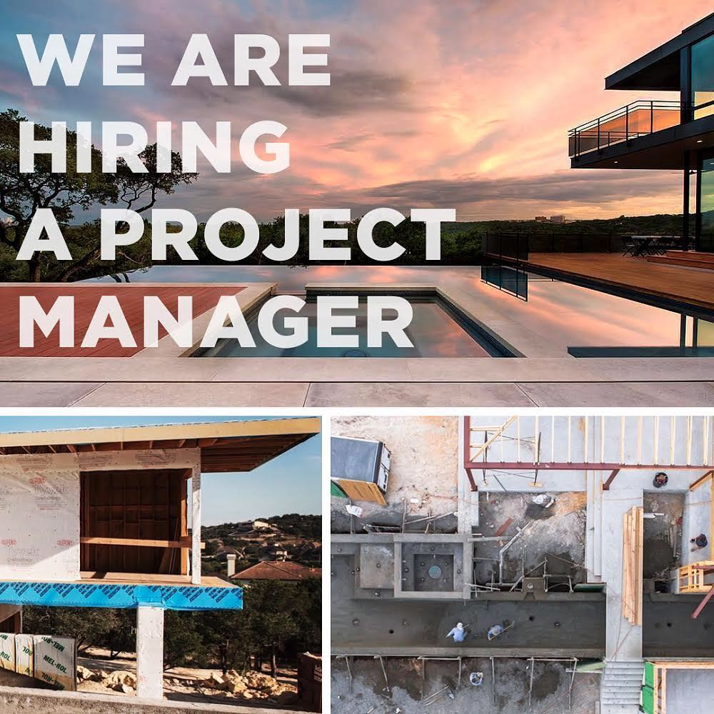 To the thinkers and doers, we're looking for a very specific individual to join our team and build architecturally significant homes.