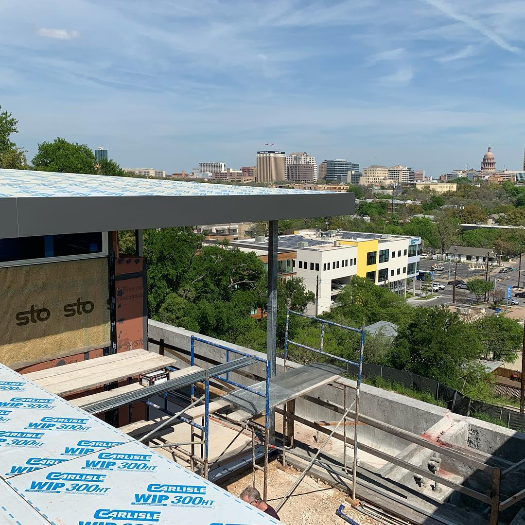 Waterproofing is key to a successful build. Love building the right way! CRAN lunch tour next Thursday! Designed by @laruearchitects Interiors by @lovecounty
