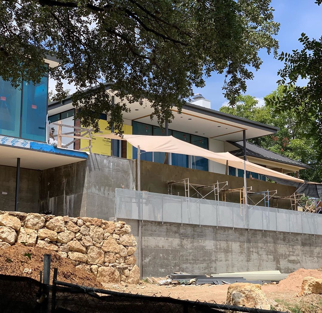 Our West Austin home is coming together nicely. Designed by @laruearchitects