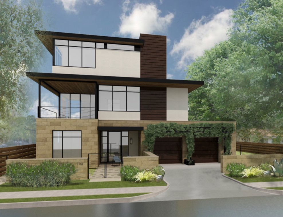 Excited to break ground on our newest @dc_architecture home in the Castle Hill District of Austin, Texas.