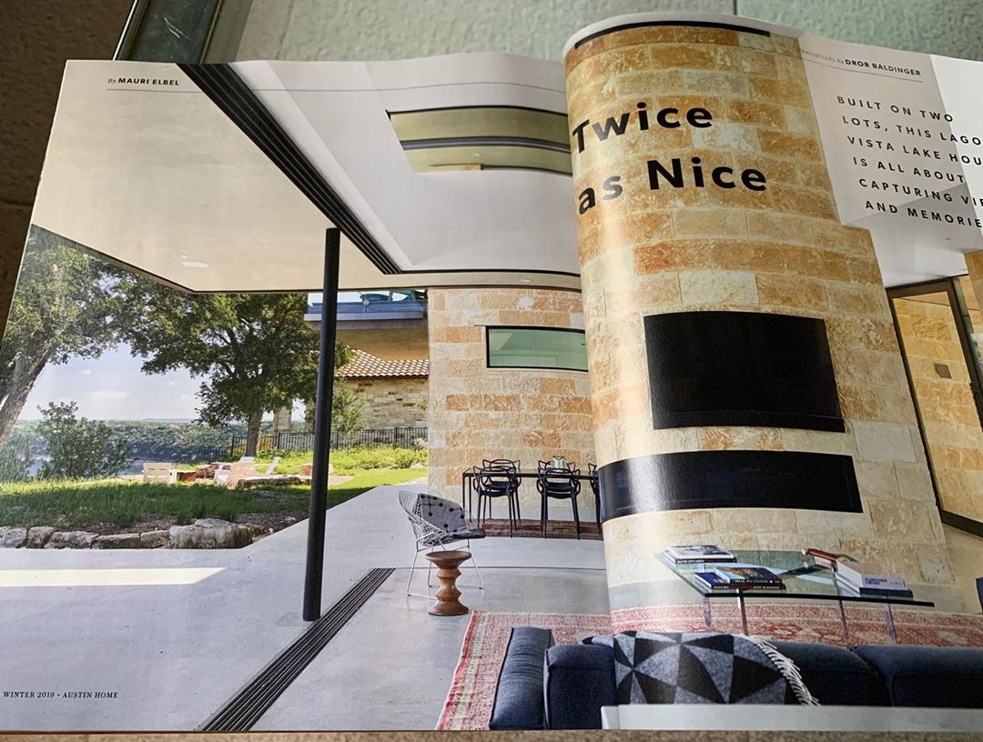 It's always a nice surprise to find a Foursquare Builders home featured in Austin Home magazine. Pick up the Winter 2019 edition to see more!