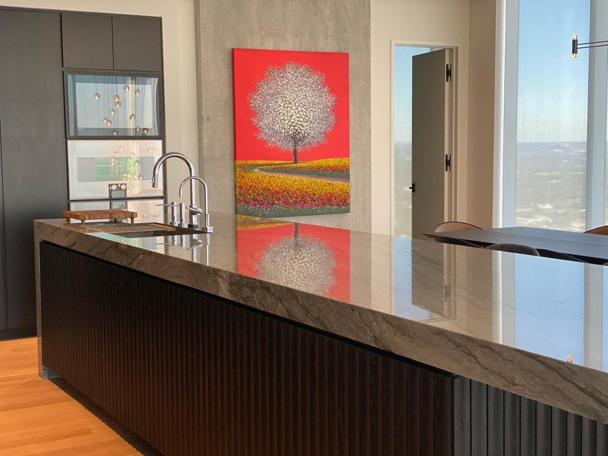 Life is grand @theindependentaustin custom solutions for @urbanspaceinteriors vision of our penthouse build by @michaelwesandco and @foursquarebuilders