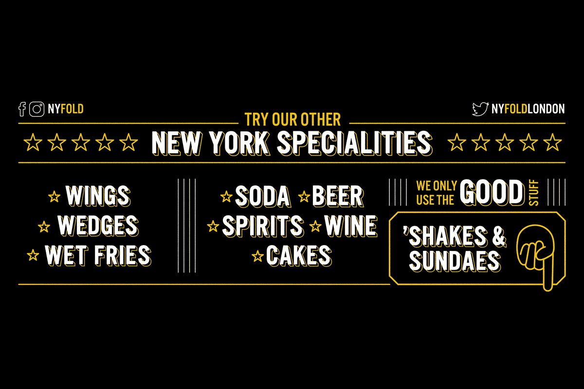 Other Specialities Chalkboard