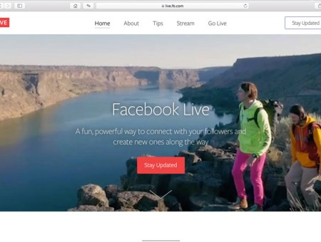 Getting to know Facebook Live