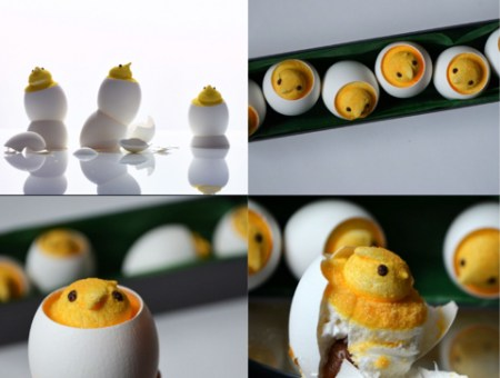 Easter Peep-A-Boo Treats