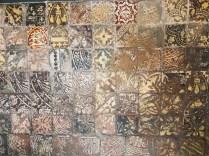 Medieval floor tiles