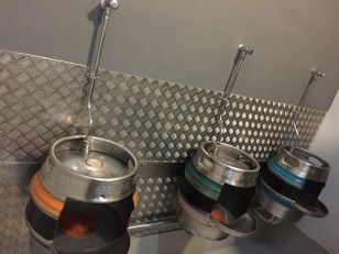Urinals 2017. The Hopbunker Cardiff