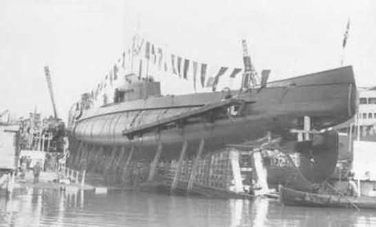 Περιγραφή: Το Ιταλικό υποβρύχιο