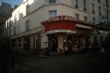 "Cafe des deux Moulins ""Salut Amelie"""