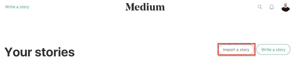 import story Medium