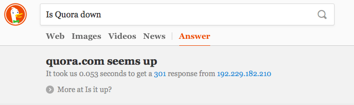is Quora down?
