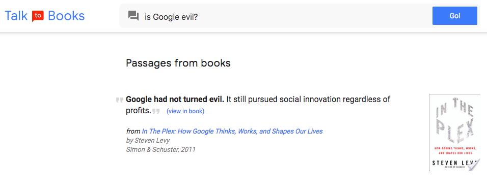 is google evil?
