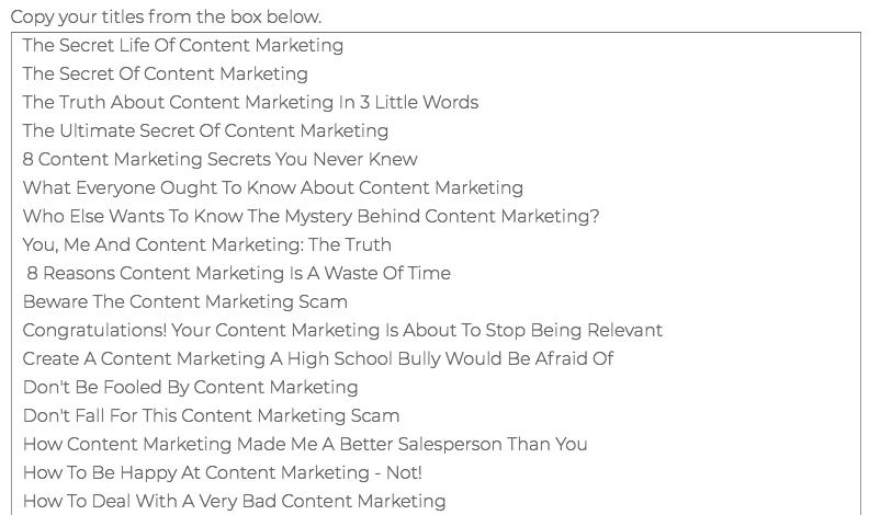 content-idea-tool