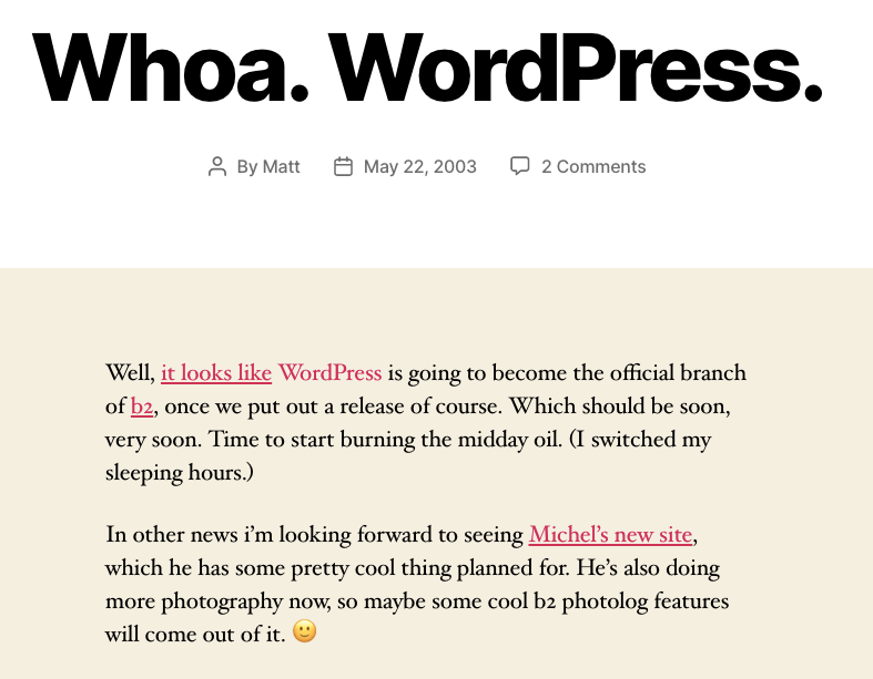 wordpress-gets-announced