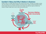 Gambler's Fallacy And Why It Matters In Business